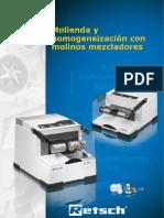 Brochure Mixer Mills Es