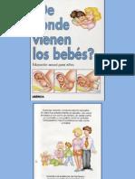 Libro de Donde Vienen Los Bebes
