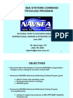 Naval Sea Systems Command Anti Fouling Program