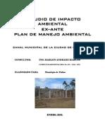 """Resumen ejecutivo del Proyecto """"""""CAMAL MUNICIPAL DE LA CIUDAD DE CATACOCHA"""""""