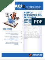Nuevos Requisistos Del Retie Para Conduct Ores Electricos Centelsa