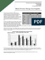 2007 Chicago Area Snapshot on Poverty