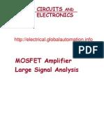 MOSFET Amplifier Large Signal Analysis