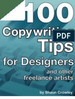 100 Copywriting Tips
