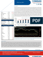 Weekly Market Roundup 27 August 2011