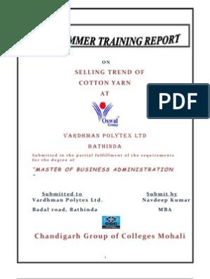 vardhman polytex company profile oswal cloth company