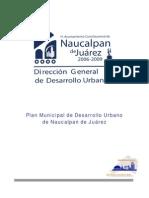 Plan Mpal. Desarrollo Urbano Naucalpan
