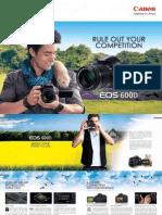 Canon EOS600D Brochure