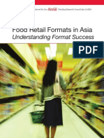 Food Retail Formats in Asia - Coca Cola Study