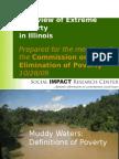 Poverty Commission Presentation 2009