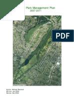 Redhill Park Management Plan 2007-11 (1)
