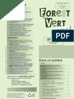 Forest & Vert n° 27