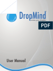 User Manual DropMind