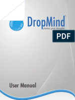 User Manual DropMind