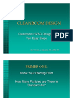 Clean Room Design Ten Easy Steps