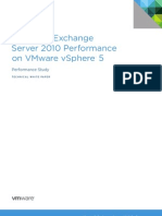 Exchange 2010 Performance on vSphere 5