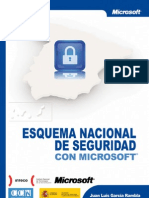 Esquema Nacional Seguridad Segun Microsoft