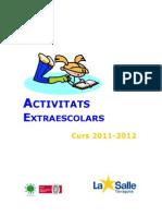 Activitats extraescolars 11-12