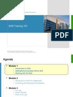 SAS Training - 101