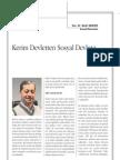 Kerim Devletten Sosyal Devlete-Bedri Gencer