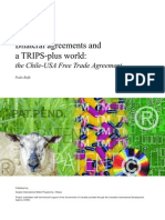 Bilateral Agreements and TRIPS Plus English