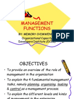 Management Functions- New
