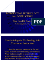 Integrating Technology Into Instruction