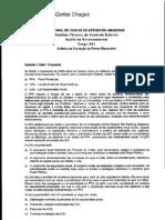 Prova Discursiva TCE Amazonas -ACE-Auditoria Govern a Mental