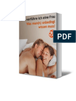 Ebook - Wie verführe ich eine Frau am besten