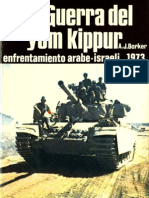 la guerra del Yom kippour 1973