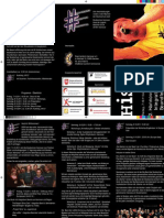 Programm zum 2. Hannoverschen Integrativen Soundfestival 2011