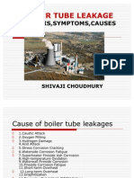 Boiler Tube Leakage,analysis,symptoms,causes