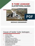 Boiler Tube Leakage,analysis,symptoms,causes