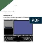 Starting IPView Pro