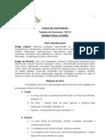 Normas Para Autores 2011.2