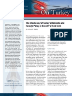 The Interlinking of Turkey's Domestic and Foreign Policy in the AKP's Third Term