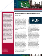 Moving EU-Pakistan Relations Beyond Words