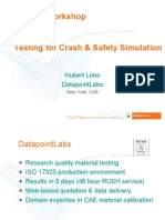 Testing for Crash & Safety Simulation