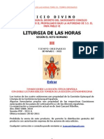Liturgia Horas Vol III- Espanhol