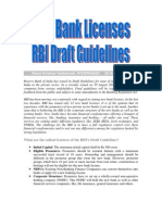New Bank Licenses-RBI Draft Norms-VRK100-29Aug2011