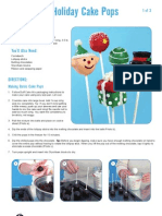 Cake Pops Project