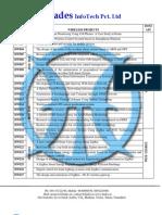 IEEE 2012 Project List @ Hades InfoTech