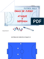 tactica futbol sala