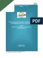 Informe de necesidades de capacitación turística del departamento de Sacatepéquez, Guatemala
