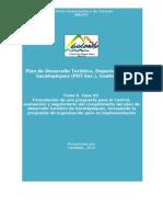 Control, evalulación y seguimiento de desarrollo turístico para el departamento de Sacatepéquez, Guatemala