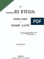 Gli eretici d'Italia, discorsi storici di Cesare Cantù, Vol. 2 - 1866