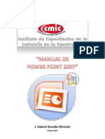 Manual Power Point_2007 CMIC V10