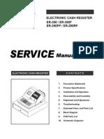 Manual Servicio Er-250 y 350