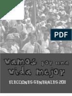 Folleto Elecciones Guatemala 2011 Asecsa 2
