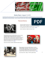 Regional Command Southwest - August 13, 2011 Roundup